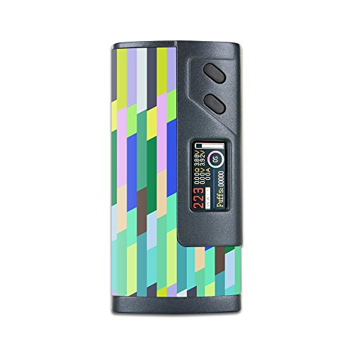 MightySkins Skin Compatible with Sigelei Fuchai 213W Plus – Fruit Stripes   Protective, Durable, and Unique Vinyl Decal wrap Cover   Easy to Apply, Remove, and Change Styles   Made in The USA
