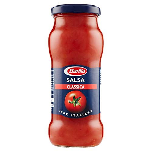 Barilla - Sugo Salsa Classica, con Pomodoro e Olio Extra Vergine di Oliva, Senza Glutine - 300 g