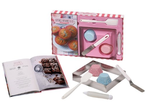Coffret Cupcakes, brownies & co