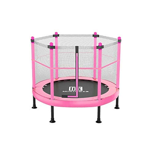 CPAZT Los niños de Interior Trampolín 40 Pulgadas con 60 cm recinto de la Seguridad, Seguridad del bebé del niño del trampolín Trampolín, Trampolín de jardín |trampolín al Aire Libre YCLIN