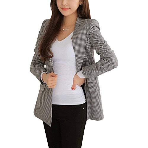 HaiDean vest dames mode herfst pak jack ruit lange mouwen revers jongen chique button slim fit casual jas hoogwaardige outwear
