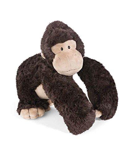 NICI 41697 Wild Friends Gorilla Torben 30 cm sitzend, mit Trommel Funktion, in Geschenkbox