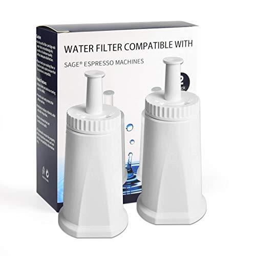 iTrunk Wasserfilter für Kaffeemaschinen Sage Oracle Barista SES 990/980/500/878/875/880/920/810(2 in)
