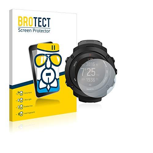 brotect Pellicola Protettiva Vetro Compatibile con Suunto Ambit3 Vertical Black Schermo Protezione, Estrema Durezza 9H, Anti-Impronte, AirGlass