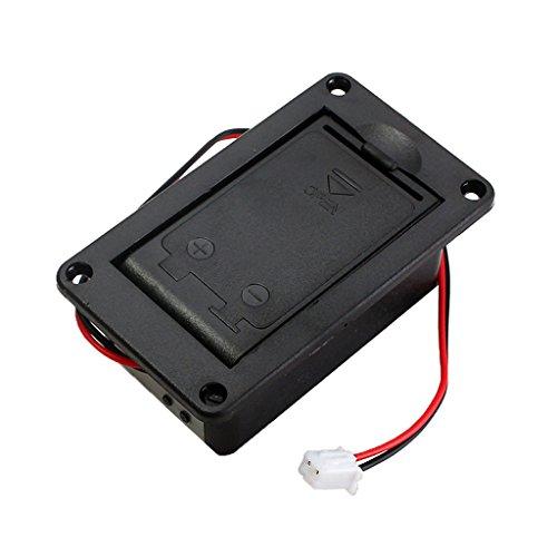 ZOUCY 1 stuk 9V Batterij Houder Case Box Cover Voor Gitaar Bass Actieve Pickup Connector