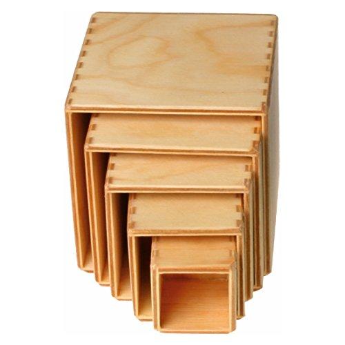Grimms Spiel Und Holz Design Grimms Kleiner Kistensatz natur