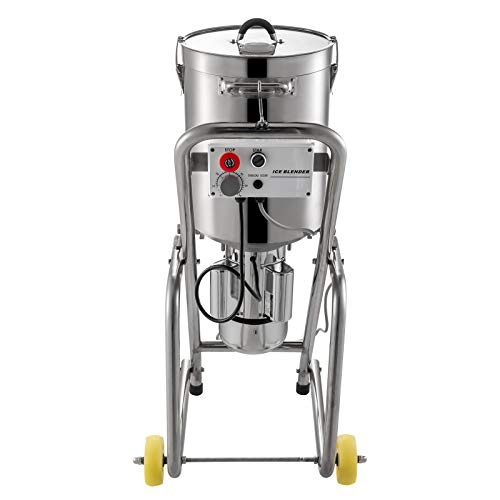 KITGARN 220V Commercial Grade Food Processor Blender 32L Electric Food Processor Kitchen Fritter 1400RPM Stainless Steel…