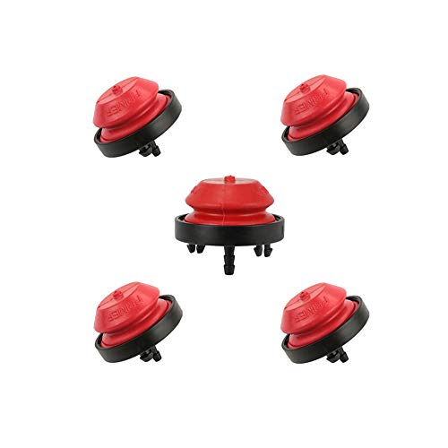 AILEETE 5-Packs Primer Bulb 570682A for 951-10639A 751-10639 MTD Craftsman Troy-Bilt Ryobi Bolens Snow Blower Thrower, Fit Tecumseh AV520 HMSK100 HMSK105 HMSK110