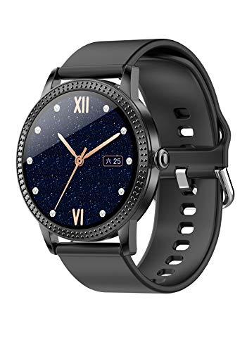 Fitness Armband, LC.IMEEKE Smartwatch Wasserdicht IP67 Fitness Tracker mit Pulsmesser 1,08 Zoll Farbbildschirm Schrittzähler Aktivitätstracker Pulsuhren Smart Watch Fitness Uhr für Damen Herren
