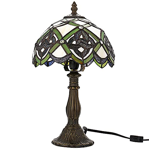 Stained glass Table Lamp Irish Celtic Lamp 8 Tiffany-Style Art Glass Desk Lamp Table Light St Patrick's Day Decoration