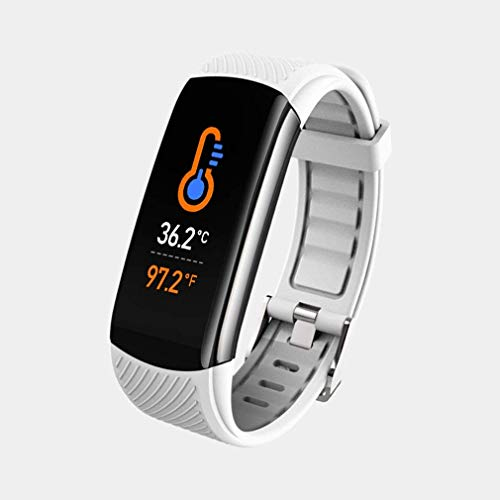 OUTAD Fitness Activity Tracker, Smart Watch with Temperature Heart Rate Blood Pressure Oxygen Sleep Monitor, Step Calorie Counter Pedometer, Smart Bracelet Wristband for Women Men Kids
