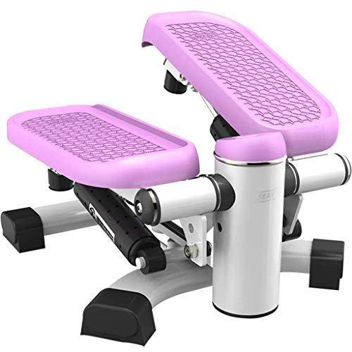 FIOFE 2-in-1-Stepper, Multifunktionspedal, tragbarer Taillendreher, Gewichtsverlust/Formgebung, rutschfestes Stoßdämpfungspedal, Indoor-Fitnessgeräte, Heim/Büro