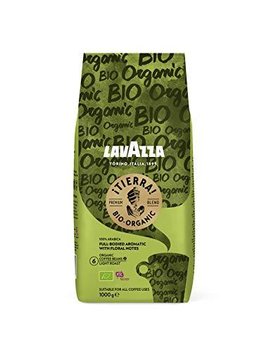Lavazza Kaffeebohnen - Tierra Bio Organic - 100 {1048563f61a3b62c3f40d05502d03ac404b78b1c22d6e227797f8ed57db80c71} Bio Arabica Bohnen - 1er Pack (1 x 1 kg)