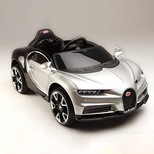 Bugatti CHIRON elettrico per bambini a doppia modalit con telecomando a...