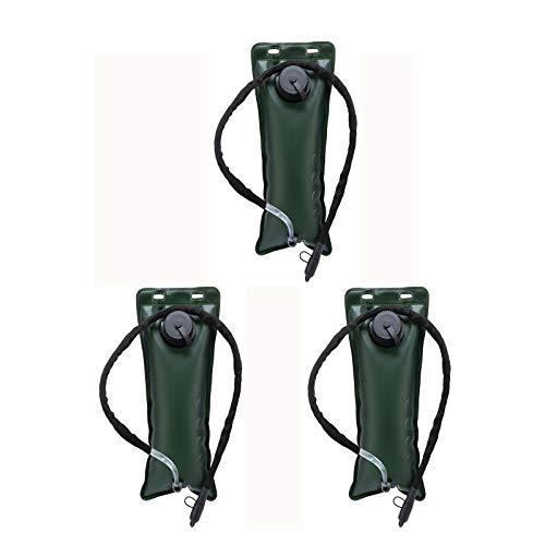 ZQQFR Bolsa de agua potable para exteriores, plegable, para viajes, camping, montañismo, almacenamiento de agua portátil, para deporte, color negro