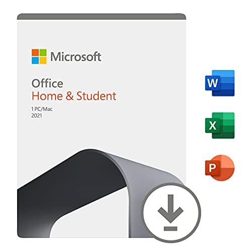Office Home & Student 2021 | si installa su un solo dispositivo PC (Windows 10) o Mac | 1 licenza perpetua | Codice di attivazione via email