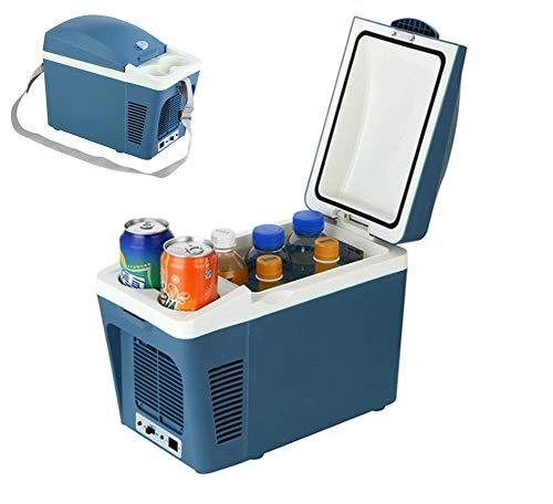 GUONING-L Cool Car refrigeradores eléctricos Caja portátil Congelador mini refrigerador de picnic al aire helado de mama beber la leche de calefacción 12V 7L refrigeradores