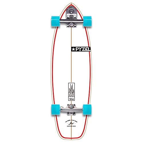 YOW Ghost 33.5' Signature Series Pyzel x Surfskate Skateboard, Adultos Unisex, Multicolor (Multicolor),