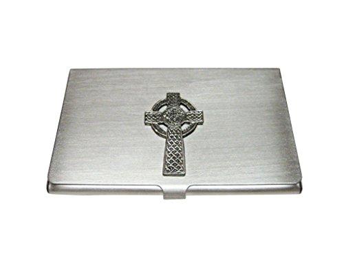 Kiola Designs Very Large Celtic Cross Business Card Holder
