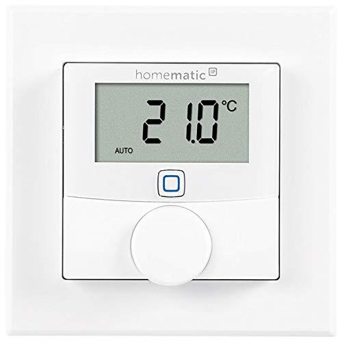 Homematic IP ELV Bausatz Wandthermostat HmIP-WTH-2 mit Luftfeuchtigkeitssensor für Smart Home