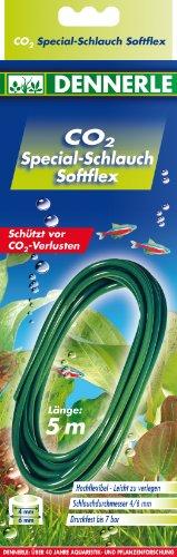 Dennerle CO2 Special-Schlauch Softflex 5m - schützt sicher vor CO2-Verlusten