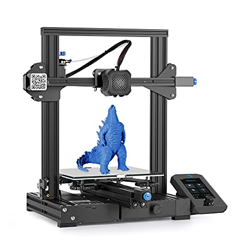 Creality 3D Drucker Ender 3 V2, FDM DIY 3D-Drucker mit Aktualisiertem ExtruderLebenslaufdruck und, Funktioniert mit TPU/PLA/ABS, Super Gute Druckgröße 220x220x250mm?Ender 3 Verbesserter?