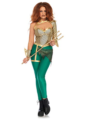 Leg Avenue Damen Aqua Warrior Kostüme, Multicolor, S