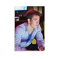 クリス・パインキャンバスアートポスターホームウォールデコレーションペインティングベッドルームデコレーションペインティング16x24inch(40x60cm)