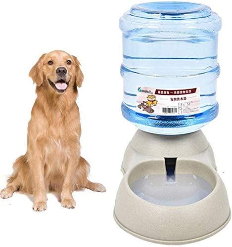 YYhkeby Katzenfutter Spender automatische Haustier-Zufuhr Pet Food Container Haustier-Wasser-Spender Abnehmbare Hunde Feeder Welpen Feeder Pet Tiere Feeder grau, Wasserzubringer Jialele