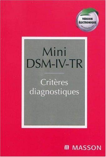Mini DSM-IV-TR + Version électronique