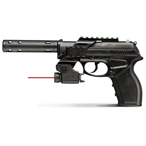 Crosman C11 Táctical | Pistola de balines (perdigones Bolas de Acero BB's). Arma de Aire comprimido CO2 Calibre 4,5mm <3,5J