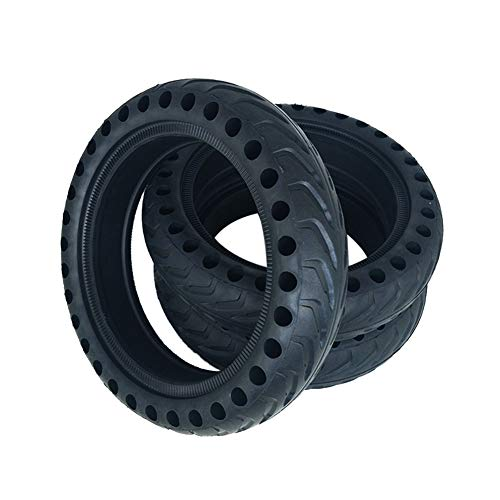 Matedepreso Solid Tire Shockproof Rubber Non-Inflatable For Xiaomi M365 Electric Scooter(Black)