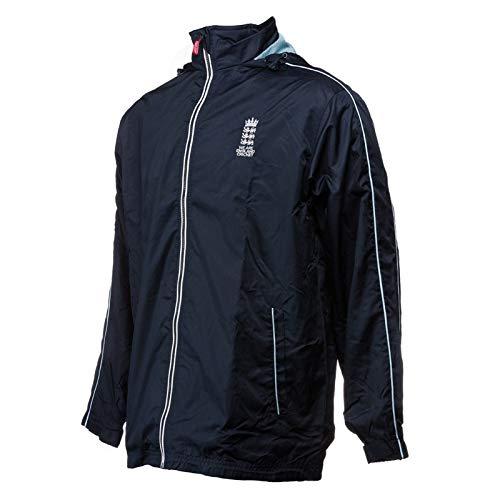 England Cricket Herren Supporters Regen Jacke L Navy