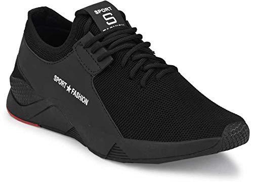 TYING Men's 9273 Black Casual Sports Running Shoes 7 UK