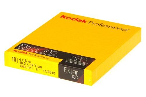 Kodak 1x10 Professional Ektar 100 4x5 película de Color - Película fotográfica a Color