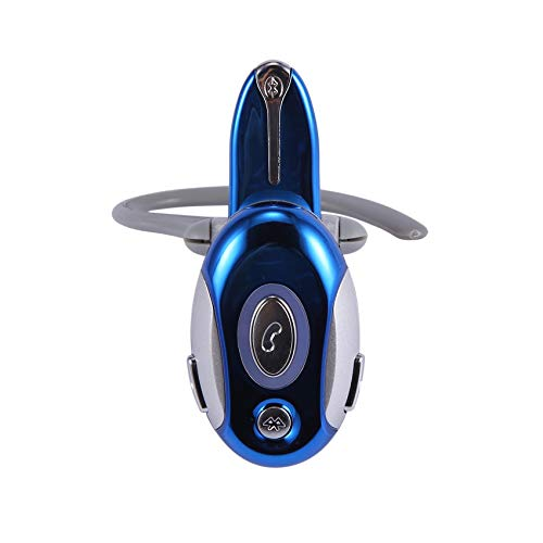Motyy Auriculares InaláMbricos Manos Libres Mono Manos Libres para Negocios para HTC, Azul