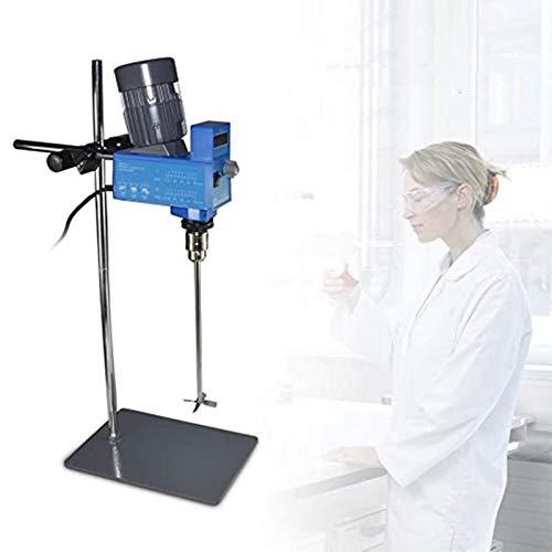 InLoveArts Mezclador Agitador Homogeneizador Pantalla digital Agitador de laboratorio digital de laboratorio Mezclador de laboratorio Heavy Duty Overhead 20L, 60~2000RPM