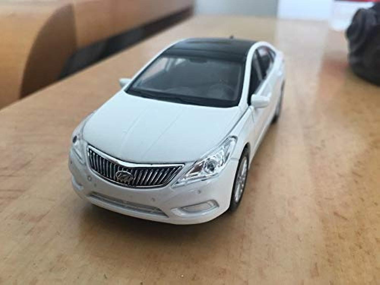 Generic 1pc 1 36 11.5cm Delicacy Welly Hyundai Sonata car Pull Back Alloy Model Home Decoration boy Toy Gift White