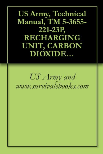 US Army, Technical Manual, TM 5-3655-221-23P, RECHARGING UNIT, CARBON DIOXIDE PUMP MET MODEL SC-5 (N