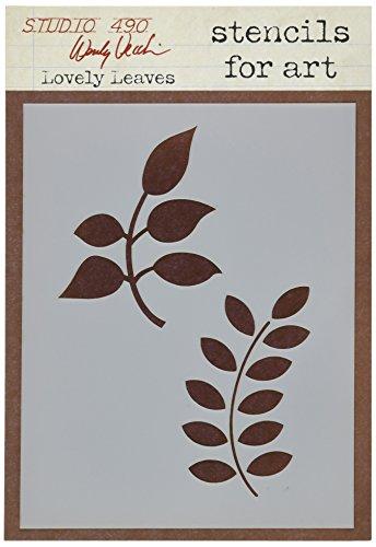 Wendy Studio Vecchi Stencil bella raccolta foglie