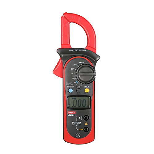 UNI-T UT202A AC/DC Voltage AC Current LCD Digital Multimeter Handheld Clamp Meter