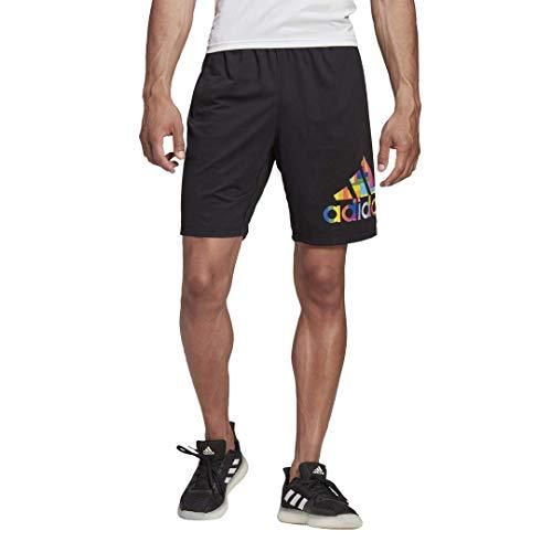 adidas Pride 4krft - Pantalones cortos para hombre - S1950MTR841H, Pride 4krft - Pantalones cortos, M, Negro