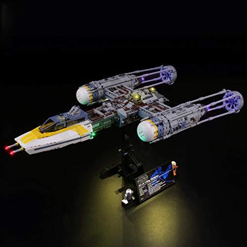 Conjunto De Luces para (Star Wars Caza Estelar ala-Y) Modelo De Construcción De Bloques - Kit De Luz LED Compatible con Lego 75181, NO Incluido En El Modelo