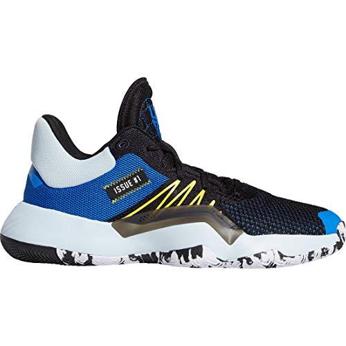 adidas Performance D.O.N. Issue #1 Basketballschuhe Herren schwarz/blau, 18 UK - 54 2/3 EU - 19 US