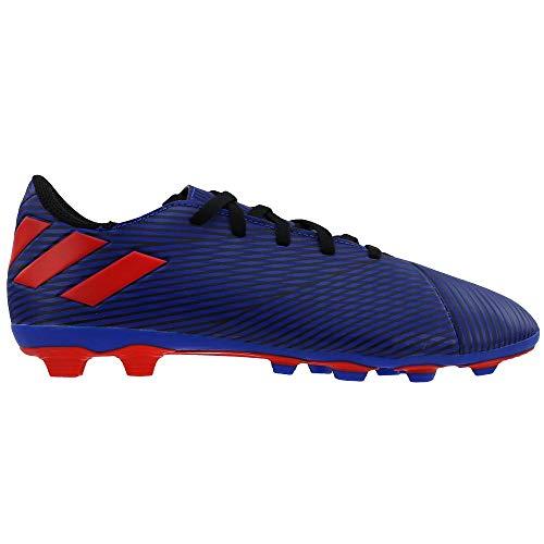 adidas Kids Boys Nemeziz 19.4 Flexible Ground Soccer Cleats - Blue - Size 5 M