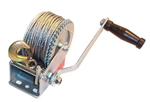 Auto Boot Heavy Duty 1200LB Hand Seilwinde und 20m Kabel und Haken