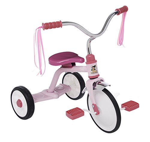 Apache | Triciclo Apachito Ride On | para Niñas de 2 a 4 Años | Modelo Clásico | Color Rosa