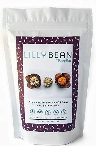 LillyBean Vegan Cinnamon Buttercream Frosting Mix (Gluten-Free!) -  LillyBean by PastryBase