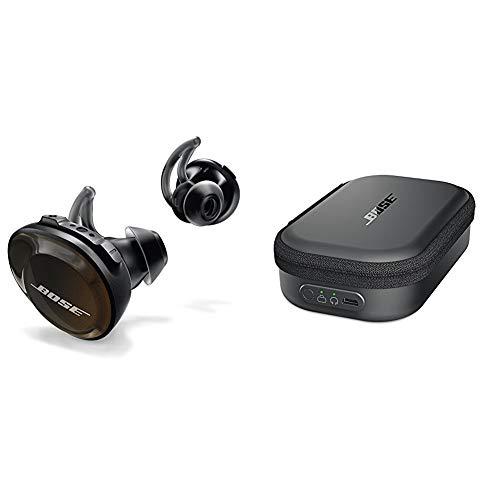Bose SoundSport Free wireless headphones - Schwarz + SoundSport Transportetui mit Ladefunktion