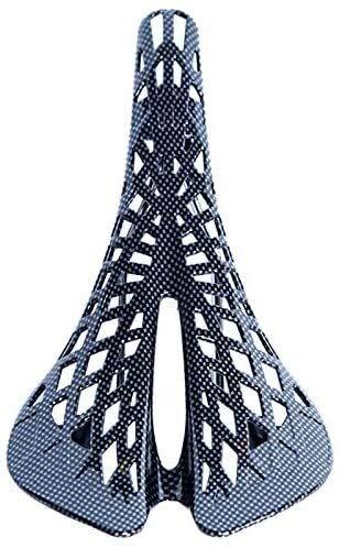 Nologo Cojín de Bicicletas Ciclismo BTM Cojín de Fibra de Carbono de una Silla Amortiguador de la Forma del Web de araña del Amortiguador Equipamiento Bicicletas Negro